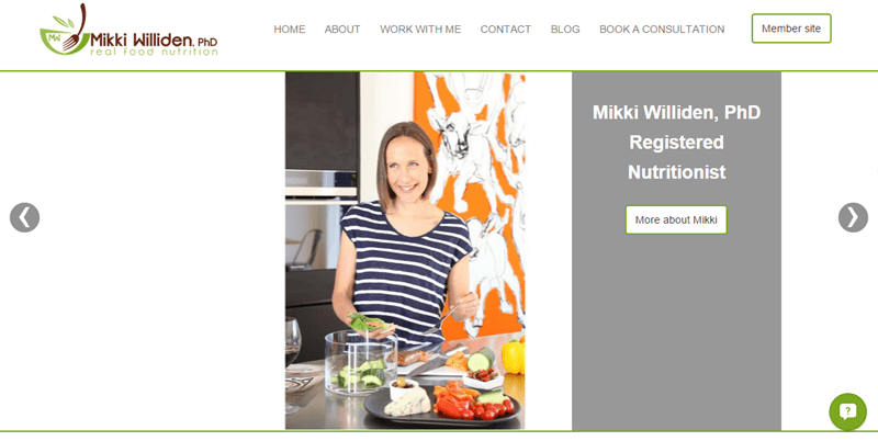 Mikki Williden Nutrition