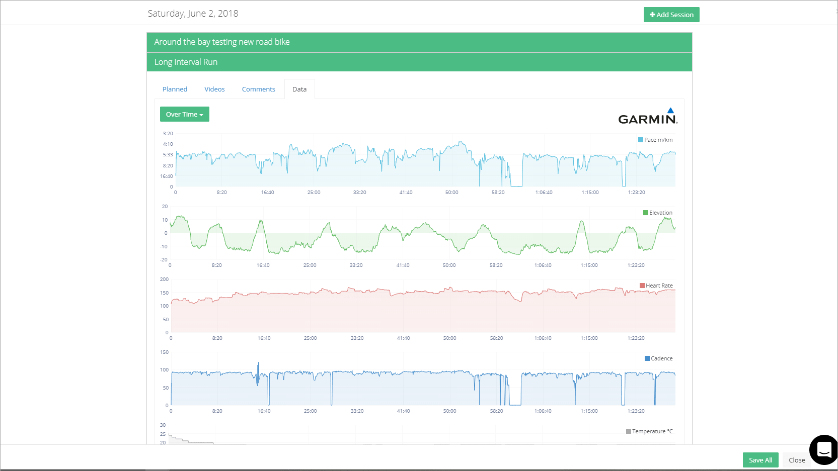 Garmin Connect and Data Enrichment Early Preview